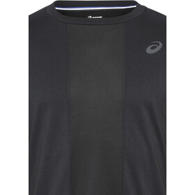 asics Stripe T-shirt course à pied Homme, performance black